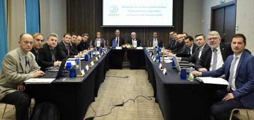 Balkan volleyball association- XVIII general assembly 1