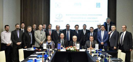 Balkan volleyball association- XVIII general assembly 18
